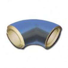 Отвод ППУ в защитной оболочке из оцинкованного кожуха толщина 40 мм