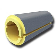 Скорлупа ППУ в защитной оболочке из оцинкованного кожуха толщина 40 мм